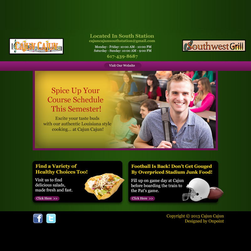 Cajun Cajun And Southwest Grill